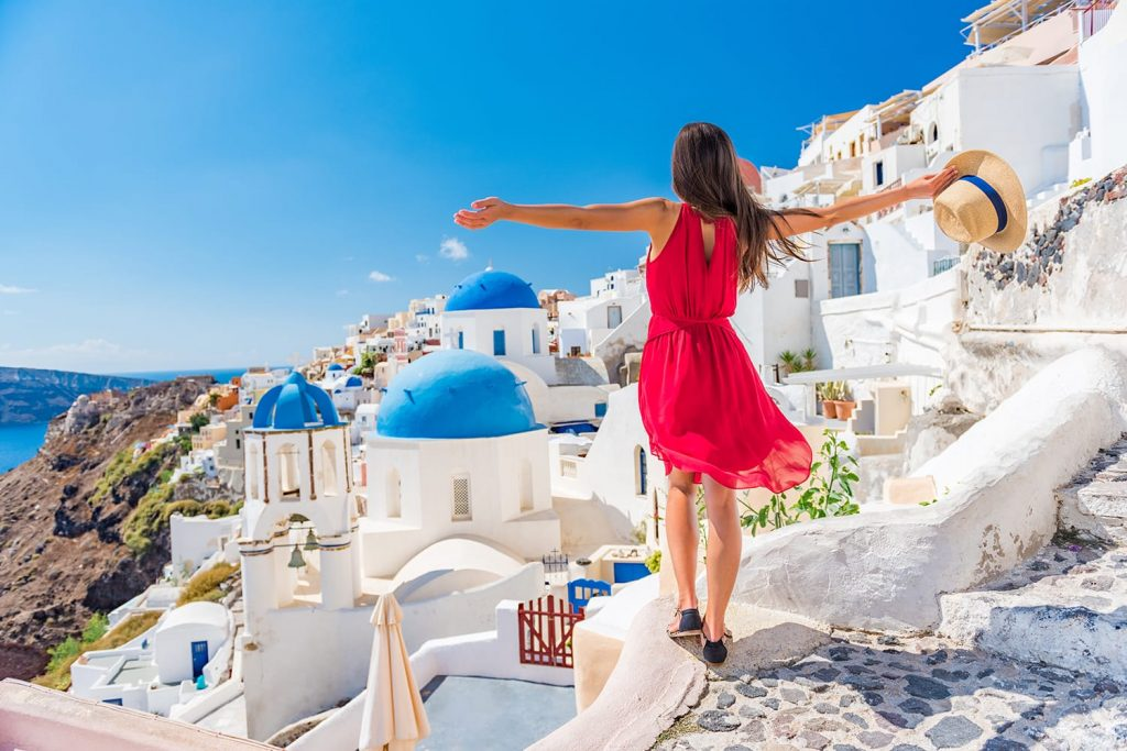 Vacation spots in Europe
